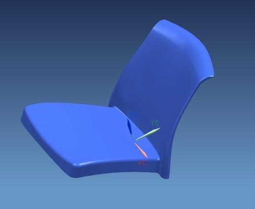 Metal Leg Chair mould
