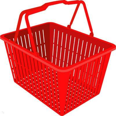 Shopping Plastic Basket Mold