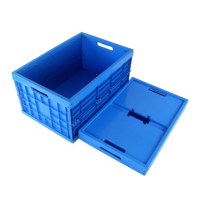 Foldable crate mould