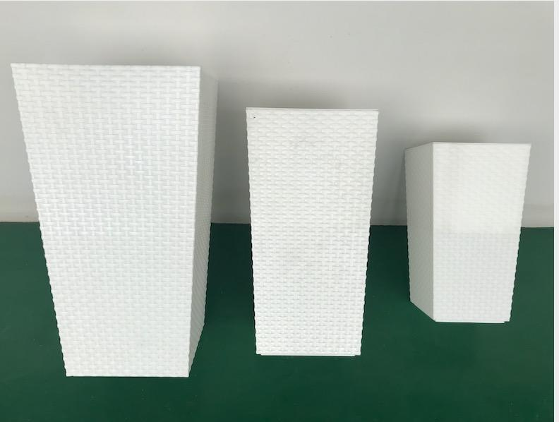 Rattan dustbin mold